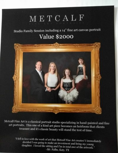 Metcalfe Studios Family Portrait Session
